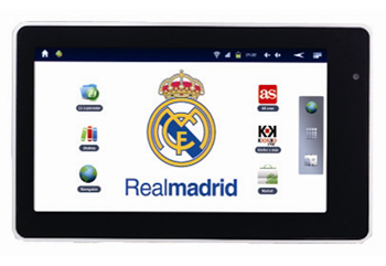 Tablet Real Madrid