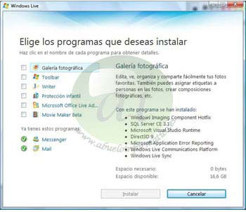 windows live id espanol:
