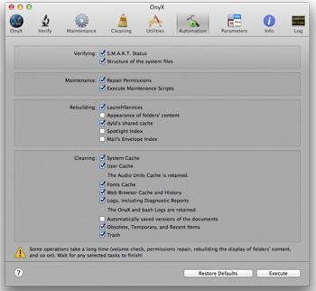 onyx pour mac os x 10.7.5